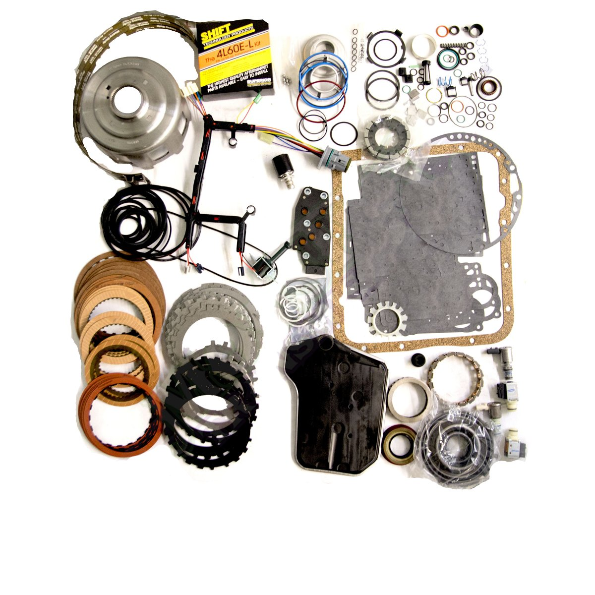 4L60E Transmission Rebuild Kit, Mega Monster-In-A-Box: 1993-97