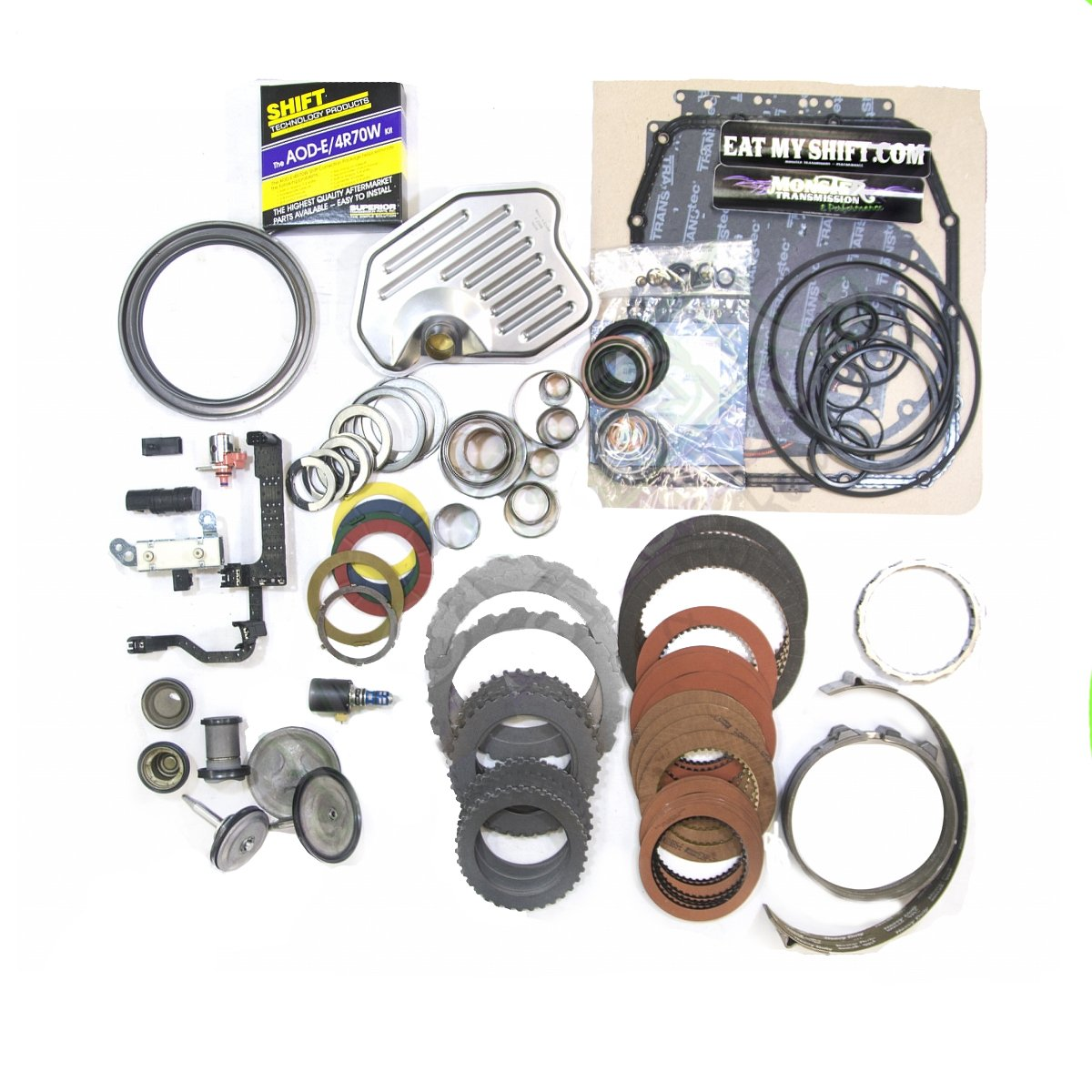 4R70W SS Mega Monster Complete Rebuild Kit: 1998-03
