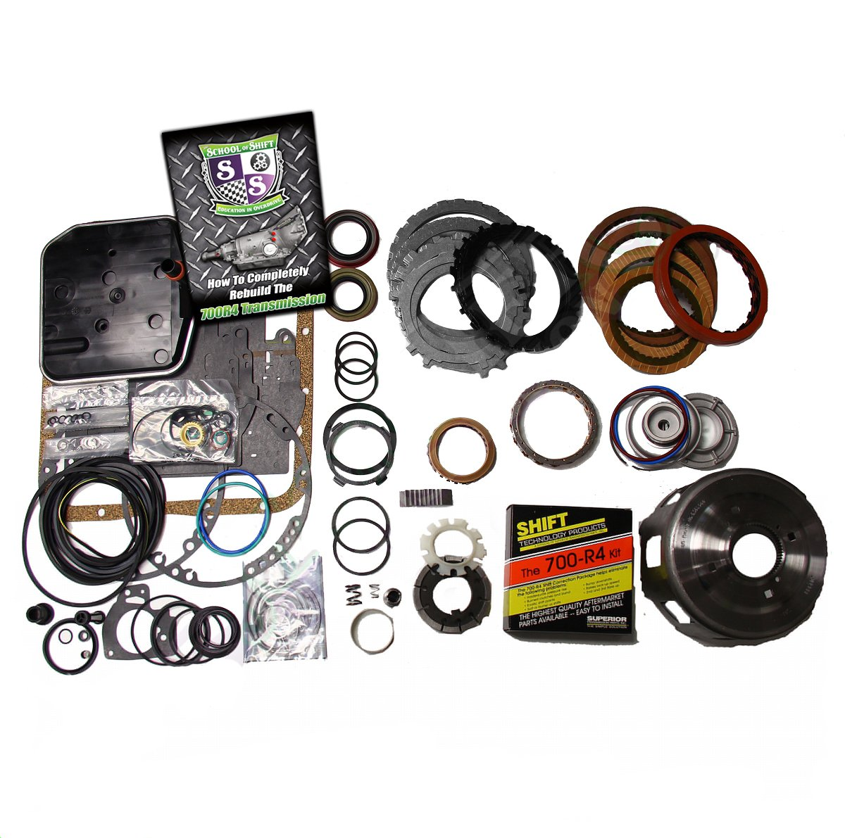 700R4 Rebuild Kit, Mega Monster-In-A-Box: 1985-86