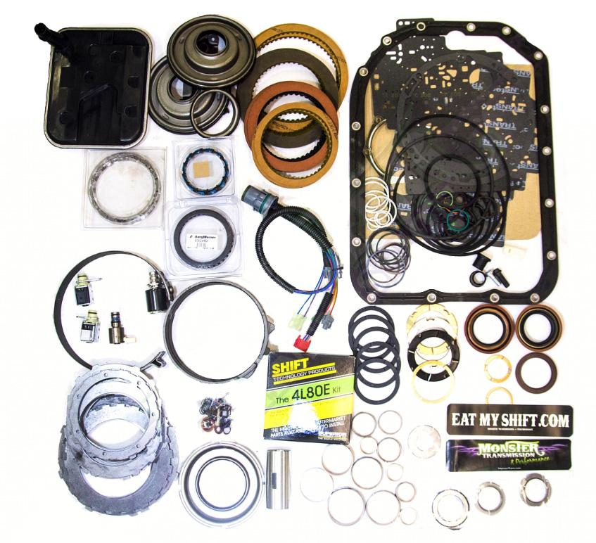 4L80E Mega Monster Transmission Complete Rebuild Kit: 1997-03